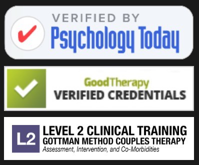 Verified by PsychologyToday GoodTherapy Gottman Therapy